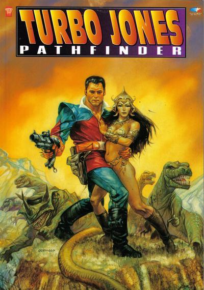 Cover for Turbo Jones: Pathfinder (Fleetway/Quality, 1991 series)