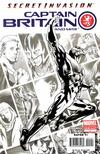 Cover for Captain Britain and MI: 13 (Marvel, 2008 series) #1 [Third Printing]