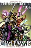 Cover Thumbnail for Thunderbolts (2006 series) #104 [Tom Grummett 2nd Printing Variant]