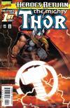 Cover for Thor (Marvel, 1998 series) #1 [Sunburst variant]