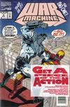 Cover for War Machine (Marvel, 1994 series) #8 [Newsstand]