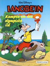 Cover Thumbnail for Langbein Kampen om den olympiske ild (Hjemmet / Egmont, 1988 series)