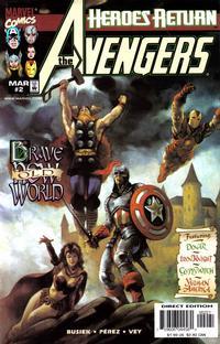 Cover Thumbnail for Avengers (Marvel, 1998 series) #2 [Variant Cover]