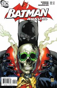 Cover Thumbnail for Batman Annual (DC, 1961 series) #25 [2nd Printing]