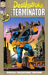 Cover Thumbnail for Deathstroke, the Terminator (DC, 1991 series) #1 [2nd Printing]