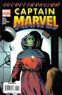 Cover Thumbnail for Captain Marvel (Marvel, 2008 series) #3 [Second Printing]