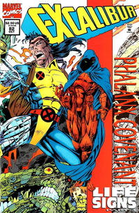 Cover Thumbnail for Excalibur (Marvel, 1988 series) #82 [Direct Edition - Standard]