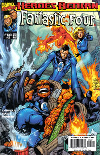 Cover Thumbnail for Fantastic Four (Marvel, 1998 series) #2 [Variant Cover]