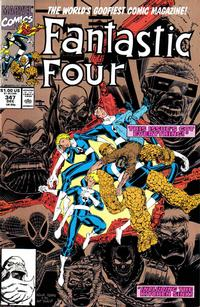 Cover Thumbnail for Fantastic Four (Marvel, 1961 series) #347 [Gold Second Printing]