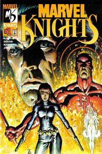 Cover Thumbnail for Marvel Knights (Marvel, 2000 series) #1 [Dynamic Forces Variant Cover]