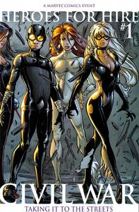 Cover Thumbnail for Heroes for Hire (Marvel, 2006 series) #1 [Second Printing]
