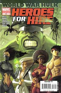 Cover Thumbnail for Heroes for Hire (Marvel, 2006 series) #11 [Second Printing]