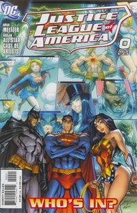Cover Thumbnail for Justice League of America (DC, 2006 series) #0 [J. Scott Campbell / Sandra Hope Cover]
