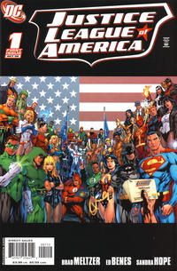 Cover Thumbnail for Justice League of America (DC, 2006 series) #1 [Second Printing]