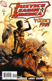 Cover Thumbnail for Justice League of America (DC, 2006 series) #4 [J.G. Jones Cover]