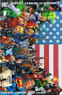 Cover for Justice League of America (DC, 2006 series) #1 [Second Printing]