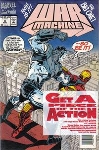 Cover Thumbnail for War Machine (Marvel, 1994 series) #8 [Newsstand]