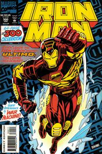 Cover Thumbnail for Iron Man (Marvel, 1968 series) #300 [Regular Direct Edition]