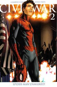 Cover Thumbnail for Civil War (Marvel, 2006 series) #2 [Second Printing]