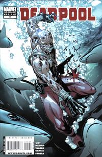 Cover Thumbnail for Deadpool (Marvel, 2008 series) #15 [2nd Print Variant]