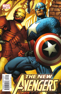 Cover Thumbnail for New Avengers (Marvel, 2005 series) #6 [Bryan Hitch Cover]