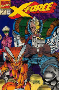 Cover for X-Force (Marvel, 1991 series) #1 [Direct]