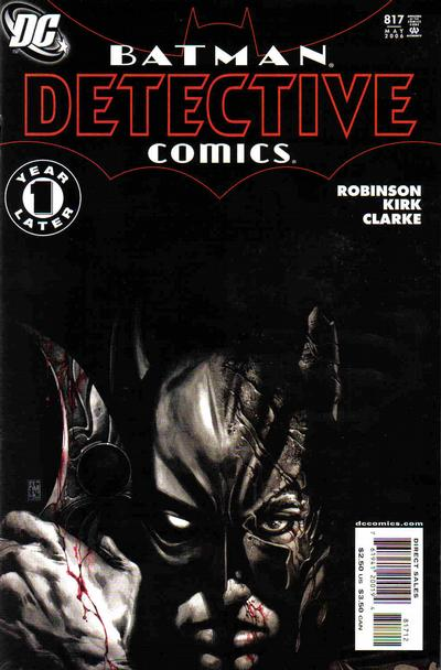 Cover for Detective Comics (DC, 1937 series) #817 [Second Printing]