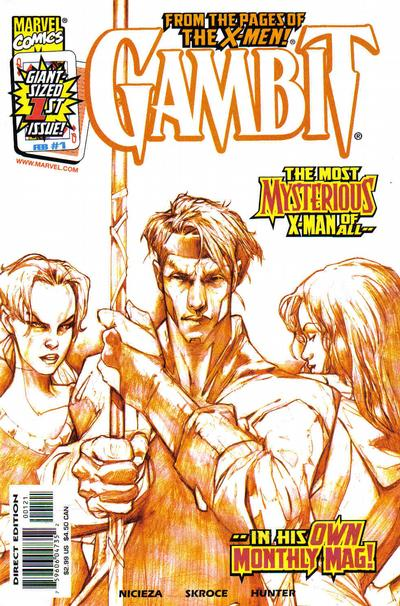 Cover for Gambit (Marvel, 1999 series) #1 [Ten Cover]