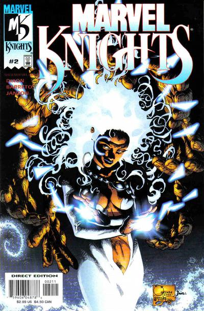 Cover for Marvel Knights (Marvel, 2000 series) #2 [Variant Edition]