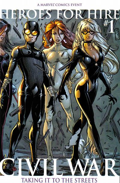 Cover for Heroes for Hire (Marvel, 2006 series) #1 [Second Printing]