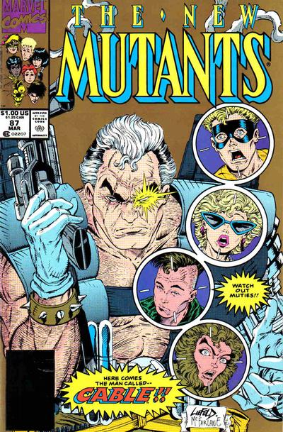 Cover for The New Mutants (Marvel, 1983 series) #87