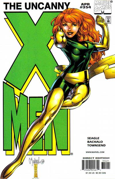 Cover for The Uncanny X-Men (Marvel, 1981 series) #354 [Cover B]