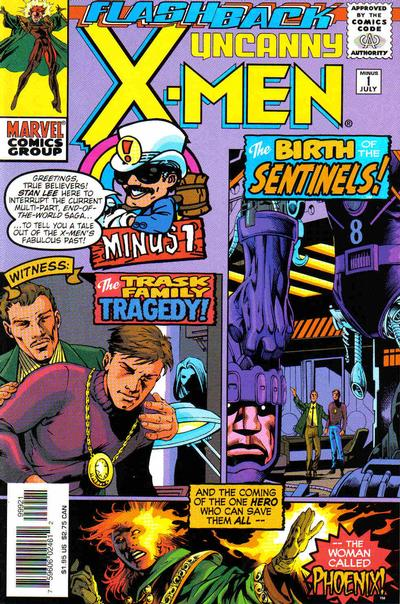Cover for The Uncanny X-Men (Marvel, 1981 series) #-1 [Newsstand]