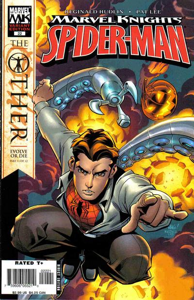 Cover for Marvel Knights Spider-Man (Marvel, 2004 series) #22 [Direct Edition]