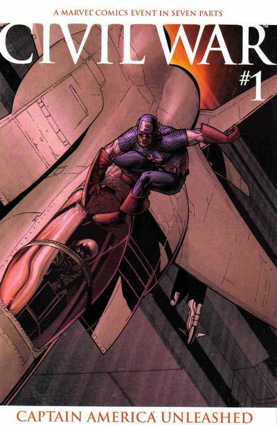 Cover for Civil War (Marvel, 2006 series) #1 [Standard Cover]