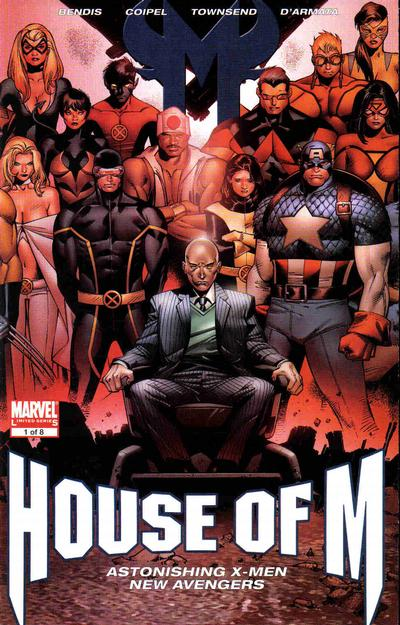 Cover for House of M (Marvel, 2005 series) #1 [Oliver Coipel 2nd Printing Variant]