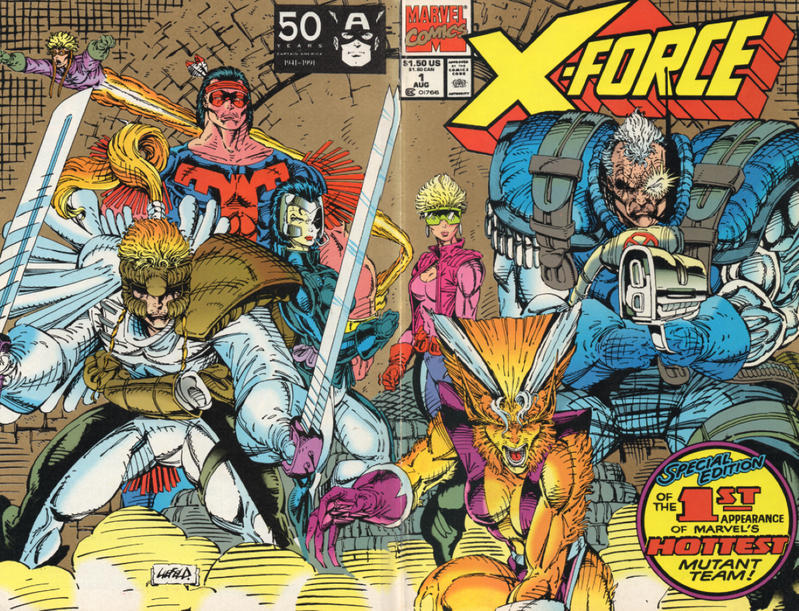 Cover for X-Force (Marvel, 1991 series) #1