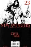 Cover Thumbnail for New Avengers (2005 series) #23 [Coipel Sketch Variant]