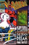 Cover Thumbnail for X-Men (1991 series) #25 [Gold Logo Variant]