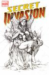 Cover Thumbnail for Secret Invasion (2008 series) #3 [Third Printing Variant Sketch Cover]