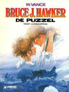 Cover for Bruce J. Hawker (Le Lombard, 1985 series) #4 - De puzzel
