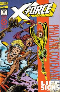 Cover Thumbnail for X-Force (Marvel, 1991 series) #38 [Standard Cover Edition]
