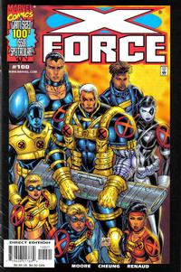 Cover Thumbnail for X-Force (Marvel, 1991 series) #100 [Variant Edition]