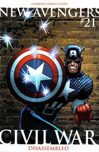 Cover Thumbnail for New Avengers (Marvel, 2005 series) #21 [2nd Printing Variant]