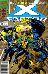 Cover Thumbnail for X-Factor (Marvel, 1986 series) #71 [Gold 2nd Printing]