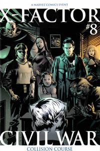 Cover Thumbnail for X-Factor (Marvel, 2006 series) #8 [Second Printing]