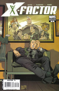 Cover Thumbnail for X-Factor (Marvel, 2006 series) #13 [Variant Edition]