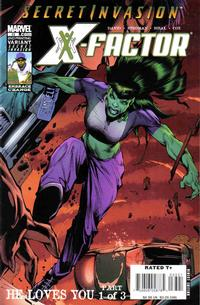 Cover for X-Factor (Marvel, 2006 series) #33