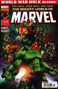 Cover Thumbnail for The Mighty World of Marvel (Panini UK, 2009 series) #1