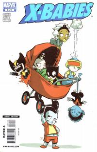 Cover Thumbnail for X-Babies (Marvel, 2009 series) #4